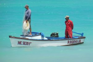 Diepzeevissen in de wateren van Jamaica is heel erg leuk.