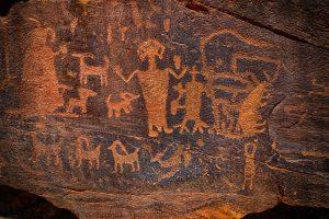 In de prehistorie werden er veel rotstekeningen gemaakt op Jamaica.