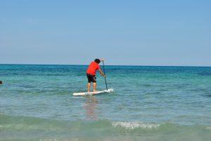 Supboarden op Jamaica is heel erg leuk.