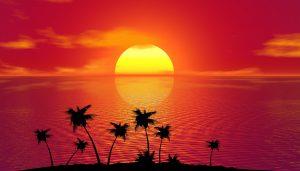 Het weer en klimaat op Jamaica is fantastisch. Met name de tropische zonondergang is super.