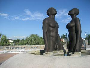 Er staan heel veel monumenten op Jamaica.